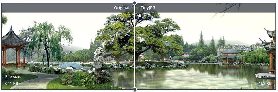 Przykład optymalizacji z użyciem TinyJPG