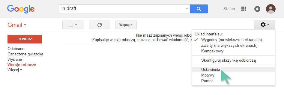 gmail konto zewnętrzne